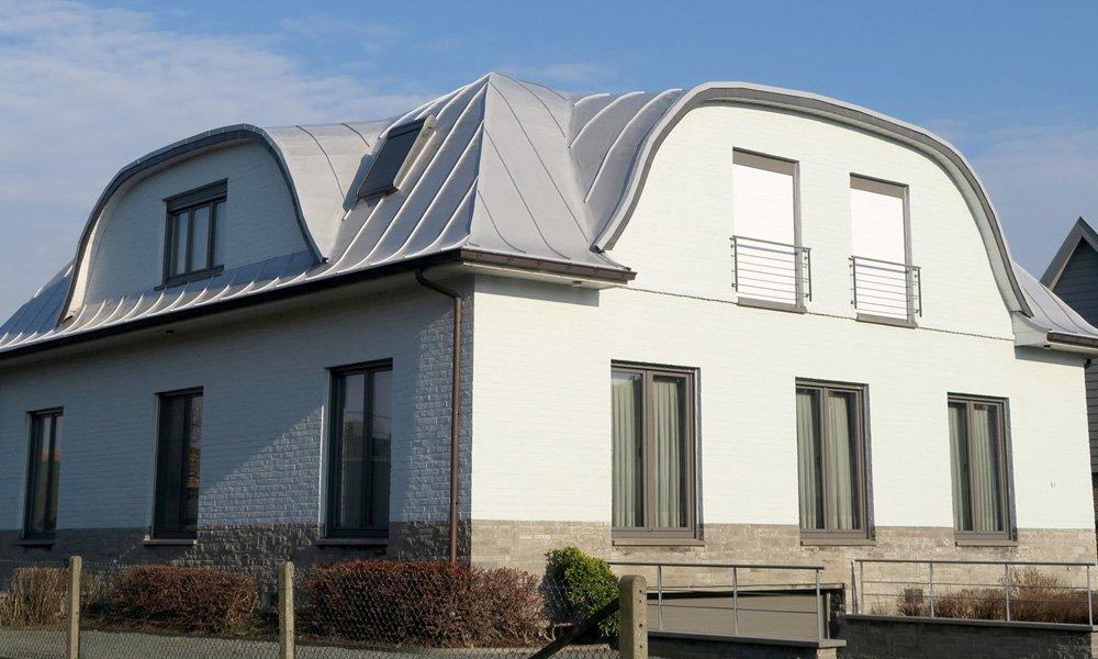 Kuntstof Dak op een huis - Derbigum Nederland